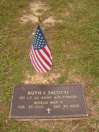 SALOTTI  (VETERAN WWII), RUTH L - Union County, Arkansas | RUTH L SALOTTI  (VETERAN WWII) - Arkansas Gravestone Photos