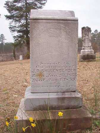 SCHULENBERGER, J P - Union County, Arkansas | J P SCHULENBERGER - Arkansas Gravestone Photos