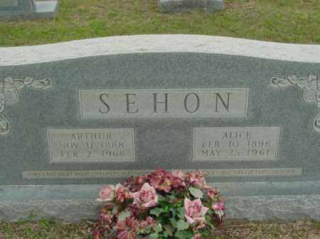 RUSHING SEHON, ALICE - Union County, Arkansas | ALICE RUSHING SEHON - Arkansas Gravestone Photos