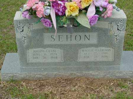 HARRISON SEHON, MAGGIE - Union County, Arkansas | MAGGIE HARRISON SEHON - Arkansas Gravestone Photos