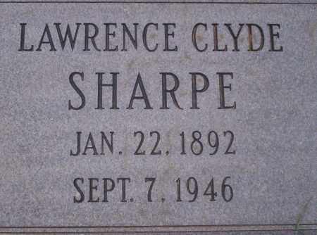 SHARPE, LAWRENCE CLYDE - Union County, Arkansas   LAWRENCE CLYDE SHARPE - Arkansas Gravestone Photos