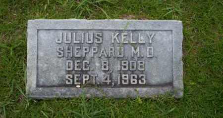 SHEPPARD,  M.D., JULIUS KELLY - Union County, Arkansas | JULIUS KELLY SHEPPARD,  M.D. - Arkansas Gravestone Photos