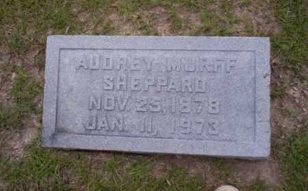 MURFF SHEPPARD, AUDREY - Union County, Arkansas | AUDREY MURFF SHEPPARD - Arkansas Gravestone Photos