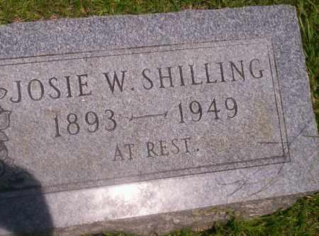 SHILLING, JOSIE W - Union County, Arkansas   JOSIE W SHILLING - Arkansas Gravestone Photos