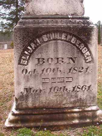 SHULENBERGER, ELIJAH - Union County, Arkansas | ELIJAH SHULENBERGER - Arkansas Gravestone Photos