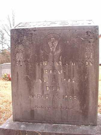 SIMPSON, RUTH EVELYN - Union County, Arkansas | RUTH EVELYN SIMPSON - Arkansas Gravestone Photos