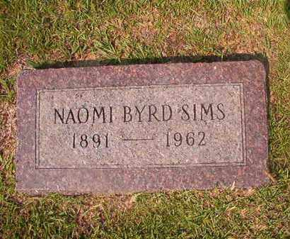 SIMS, NAOMI - Union County, Arkansas | NAOMI SIMS - Arkansas Gravestone Photos
