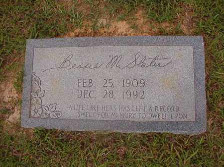 SLATER, BESSIE M - Union County, Arkansas | BESSIE M SLATER - Arkansas Gravestone Photos