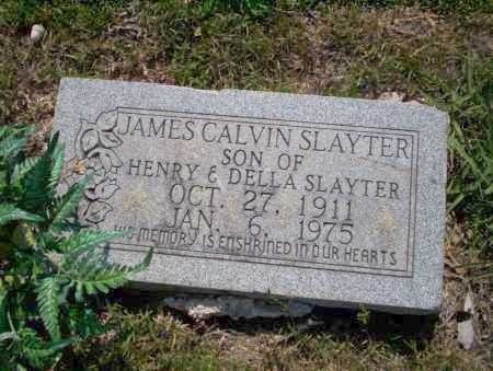 SLAYTER, JAMES CALVIN - Union County, Arkansas   JAMES CALVIN SLAYTER - Arkansas Gravestone Photos