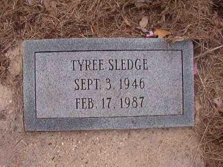 SLEDGE, TYREE - Union County, Arkansas   TYREE SLEDGE - Arkansas Gravestone Photos