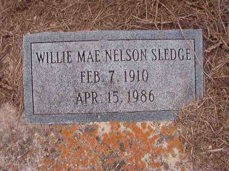 SLEDGE, WILLIE MAE - Union County, Arkansas | WILLIE MAE SLEDGE - Arkansas Gravestone Photos