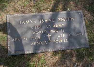 SMITH  (VETERAN WWII), JAMES ISACC - Union County, Arkansas | JAMES ISACC SMITH  (VETERAN WWII) - Arkansas Gravestone Photos