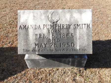 PUMPHREY SMITH, AMANDA - Union County, Arkansas   AMANDA PUMPHREY SMITH - Arkansas Gravestone Photos
