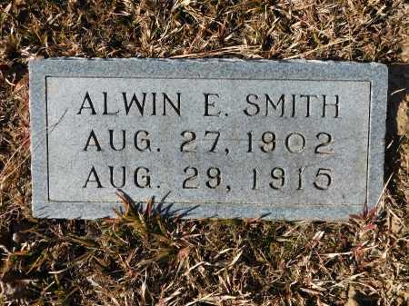 SMITH, ALWIN E - Union County, Arkansas | ALWIN E SMITH - Arkansas Gravestone Photos