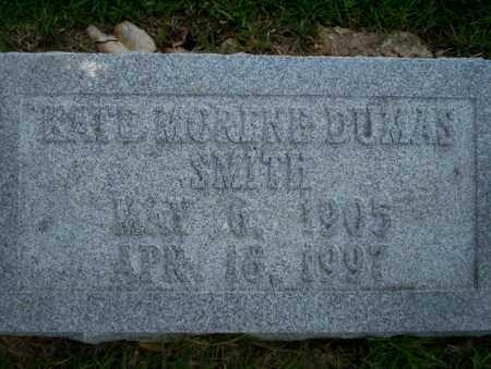 DUMAS SMITH, KATE MORENE - Union County, Arkansas | KATE MORENE DUMAS SMITH - Arkansas Gravestone Photos