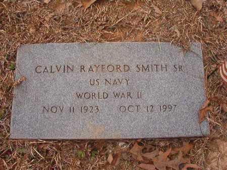 SMITH, SR (VETERAN WWII), CALVIN RAYFORD - Union County, Arkansas | CALVIN RAYFORD SMITH, SR (VETERAN WWII) - Arkansas Gravestone Photos