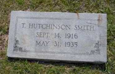 SMITH, T. HUTCHINSON - Union County, Arkansas | T. HUTCHINSON SMITH - Arkansas Gravestone Photos