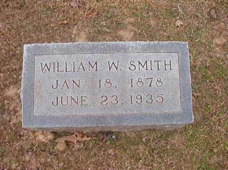 SMITH, WILLIAM W - Union County, Arkansas   WILLIAM W SMITH - Arkansas Gravestone Photos