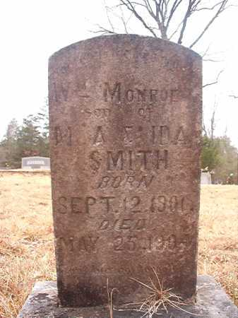 SMITH, WILLIAM MONROE - Union County, Arkansas | WILLIAM MONROE SMITH - Arkansas Gravestone Photos