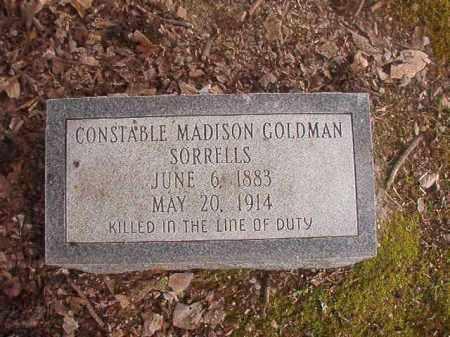SORRELLS, MADISON GOLDMAN - Union County, Arkansas | MADISON GOLDMAN SORRELLS - Arkansas Gravestone Photos