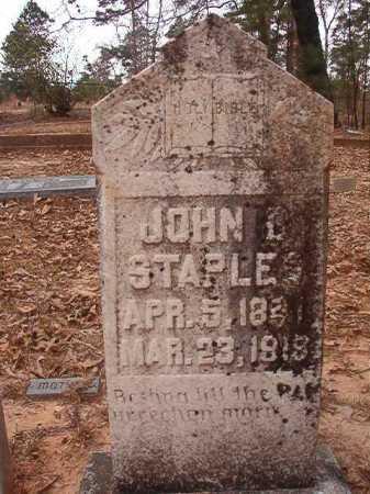 STAPLES, JOHN D - Union County, Arkansas | JOHN D STAPLES - Arkansas Gravestone Photos