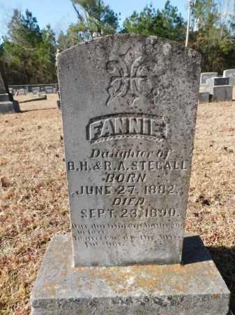 STEGALL, FANNIE - Union County, Arkansas | FANNIE STEGALL - Arkansas Gravestone Photos