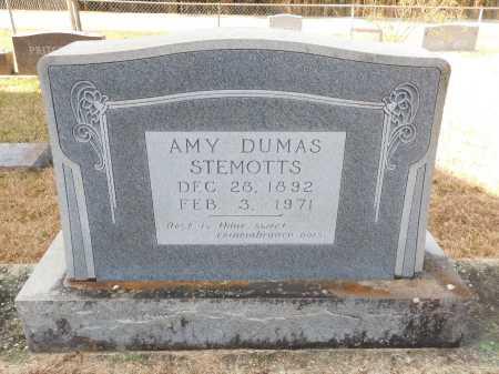 STEMOTTS, AMY - Union County, Arkansas | AMY STEMOTTS - Arkansas Gravestone Photos