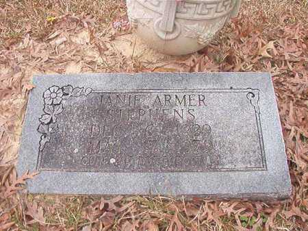 ARMER STEPHENS, JANIE - Union County, Arkansas | JANIE ARMER STEPHENS - Arkansas Gravestone Photos