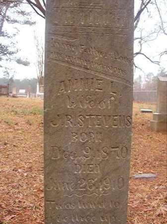 STEVENS, ANNIE L - Union County, Arkansas | ANNIE L STEVENS - Arkansas Gravestone Photos