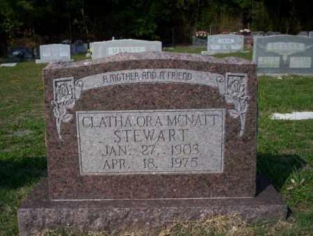MCNATT STEWART, CLATHA ORA - Union County, Arkansas | CLATHA ORA MCNATT STEWART - Arkansas Gravestone Photos