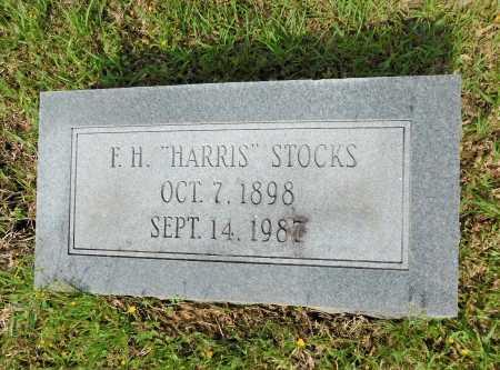 "STOCKS, F H ""HARRIS"" - Union County, Arkansas | F H ""HARRIS"" STOCKS - Arkansas Gravestone Photos"