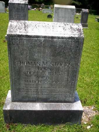 STOCKS, THOMAS M - Union County, Arkansas | THOMAS M STOCKS - Arkansas Gravestone Photos