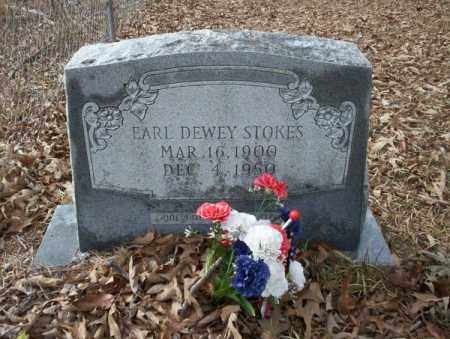 STOKES, EARL DEWEY - Union County, Arkansas   EARL DEWEY STOKES - Arkansas Gravestone Photos