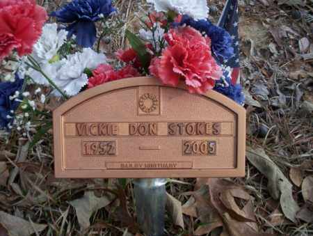 STOKES, VICKIE DON - Union County, Arkansas | VICKIE DON STOKES - Arkansas Gravestone Photos