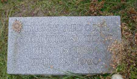 GOODWIN SWILLEY, NANCY MEDORA - Union County, Arkansas | NANCY MEDORA GOODWIN SWILLEY - Arkansas Gravestone Photos