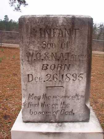 TATUM, INFANT SON - Union County, Arkansas | INFANT SON TATUM - Arkansas Gravestone Photos