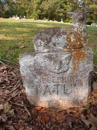 TATUM, JOSEPHINE - Union County, Arkansas | JOSEPHINE TATUM - Arkansas Gravestone Photos