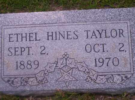 HINES TAYLOR, ETHEL - Union County, Arkansas | ETHEL HINES TAYLOR - Arkansas Gravestone Photos