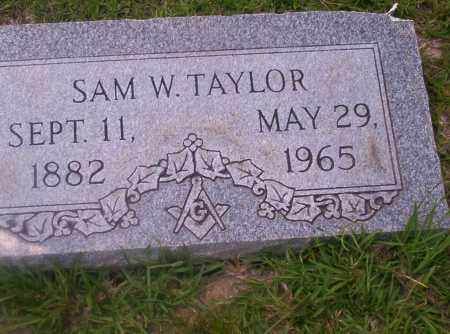 TAYLOR, SAM W - Union County, Arkansas | SAM W TAYLOR - Arkansas Gravestone Photos