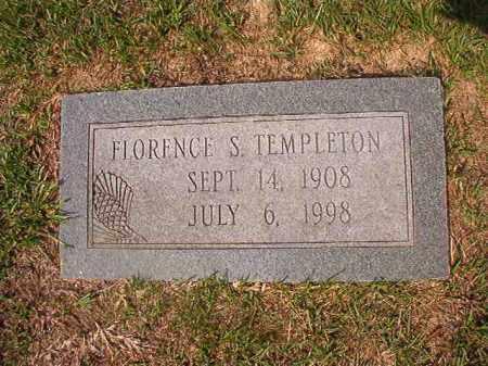 TEMPLETON, FLORENCE S - Union County, Arkansas   FLORENCE S TEMPLETON - Arkansas Gravestone Photos