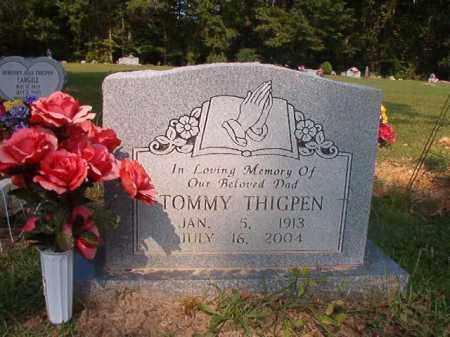 THIGPEN, TOMMY - Union County, Arkansas   TOMMY THIGPEN - Arkansas Gravestone Photos