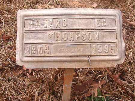 THOMPSON, EDWARD - Union County, Arkansas | EDWARD THOMPSON - Arkansas Gravestone Photos
