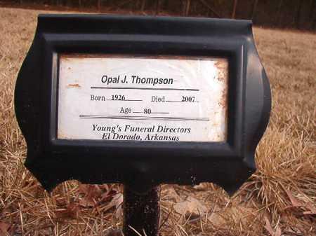 THOMPSON, OPAL J - Union County, Arkansas   OPAL J THOMPSON - Arkansas Gravestone Photos