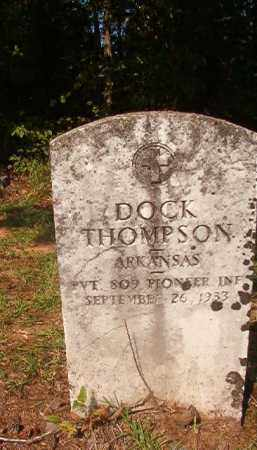 THOMPSON (VETERAN), DOCK - Union County, Arkansas | DOCK THOMPSON (VETERAN) - Arkansas Gravestone Photos
