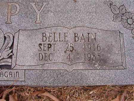 BAIN TIPPY, BELLE - Union County, Arkansas   BELLE BAIN TIPPY - Arkansas Gravestone Photos
