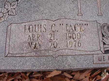 "TIPPY, LOUIS C ""JACK"" - Union County, Arkansas | LOUIS C ""JACK"" TIPPY - Arkansas Gravestone Photos"
