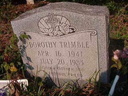 TRIMBLE, DOROTHY - Union County, Arkansas | DOROTHY TRIMBLE - Arkansas Gravestone Photos