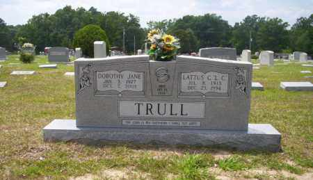 TRULL, LATTUS C.L.C. - Union County, Arkansas | LATTUS C.L.C. TRULL - Arkansas Gravestone Photos