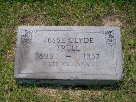 TRULL, JESSE CLYDE - Union County, Arkansas | JESSE CLYDE TRULL - Arkansas Gravestone Photos