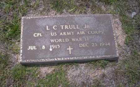TRULL, JR. (VETERAN WWII), L.C. - Union County, Arkansas | L.C. TRULL, JR. (VETERAN WWII) - Arkansas Gravestone Photos